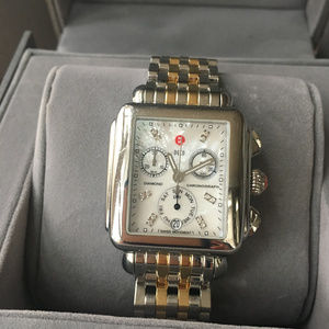 Authentic Michele Deco Watch-Priced just lowered!